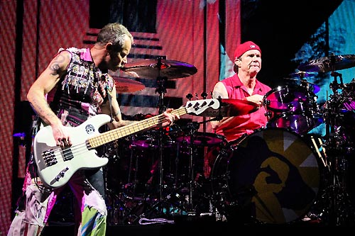 Red Hot Chili Peppers chega a New
