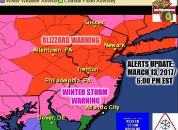 New Jersey: Winter Storm Warning