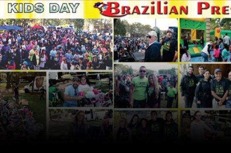FOTOS: 16º Kids Day Brazilian Press em Newark