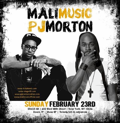 mali music pj morton poster