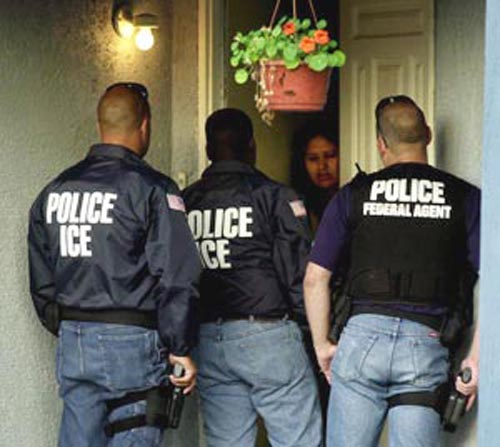 imigracao ice policia