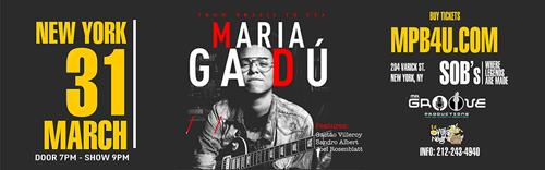 Consagrada por sua versatilidade e sensibilidade vocal, Maria Gadu retorna a Manhattan